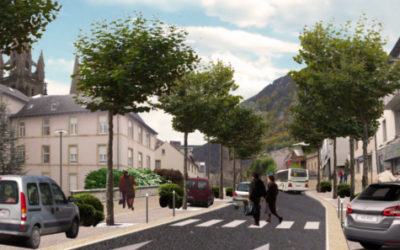 Travaux d'aménagement des boulevards