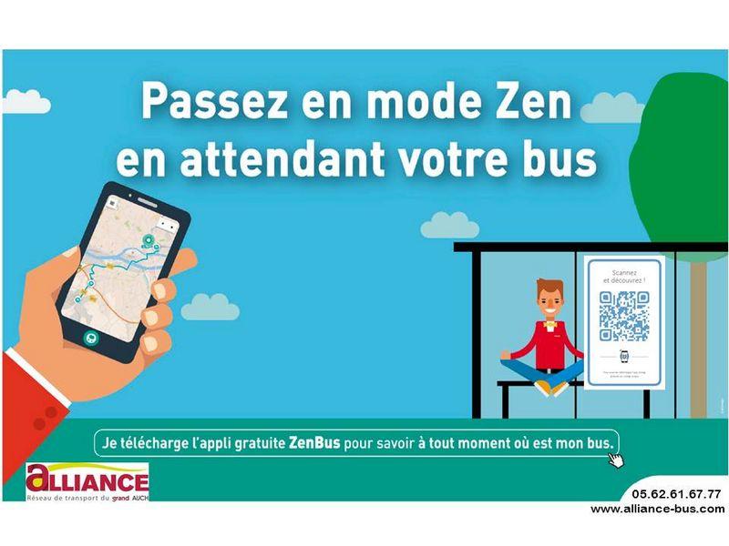 Passez en mode Zen en attendant votre bus